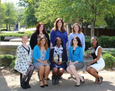 Kristina Decker, Dr. Mollie Anderson, Caroline Kaufman, Robin Hardin, Dr. Idia Thurston, Rebecca Kamody, Courtney Maclin