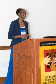 Dr. Idia Thurston speaking