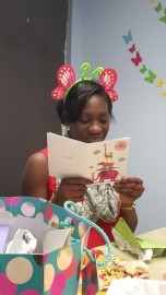 Dr. Thurston's baby shower