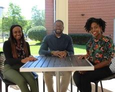 Undergraduate RAs: Jazmyne, Jordan, and Danielle