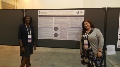 Dr. Idia Thurston and Kristina Decker at TOS 2016